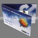 high-end and creative 3 inch lcd video brochure card,advertising video card,gift card for Wedding ,Anniversary,Birthday