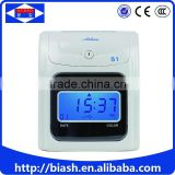 office punch time card attendance machine time clock