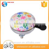 Heat transfer printing ding dong custom bells mountain bike accessory bicycle novelty bells