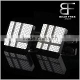 Stainless Steel Classic Men's Square Cufflinks, Silver Brick Silver Tone Cufflinks                                                                         Quality Choice