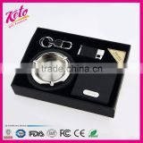 Classical 4pcs business lighter smoking gift set                                                                                                         Supplier's Choice