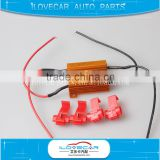 LED brake line resistor decoding line