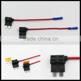 Add A Circuit Standard Blade Fuse Box Holder Dual Circuit Adapter Holder For Car Truck ACS ATO ATC Piggy Back Tap Fuses Tap