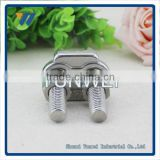 Marine Rigging Hardware Fastener Manufacturer Din 1142 Wire Rope Clip 5 6.5 8 10 13 16 19 22 26 30 34 40mm