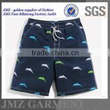 Stylish quality polyester custom bermuda beachwear cargo swim shorts