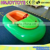 2014 Hot selling summer promotion inflatable used water bumper boats for sale battery operated bumper boat