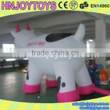 Color and size customized inflatable cow costume