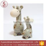 Kids Bedroom Decor Ceramic Giraffe Anime Figurine