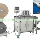 spiral wire binder,factory double coil book binding machine