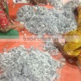 Cotton yarn waste Grey Melange