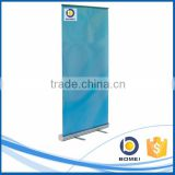 Advertising 80/85*200cm aluminum roll up banner for display, promotion roll up banner stand