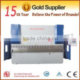 WE67K-160/3200 electrolyte servo system CNC bending machine for 3200mm capacity folding