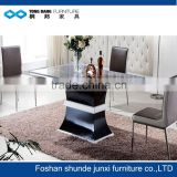heavy duty marble dining table with MDF base