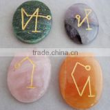 Wholesale Beautiful Rose Quartz Amethyst Green Jade Yellow Aventurine Arch angel Set : Reiki Healing stones