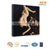 Decorative wall hanging sexy nude photo female body oil painting