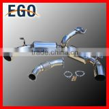 "STAINLESS STEEL 3"" TURBO AND TIP DUAL MUFFLER CATBACK EXHAUST Kit MR2 MR-2 W20 3SGTE"