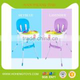 Cheapest baby dinning chair with PP material folding feeding chair for children
