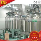 Hand Body White Lotion Making Equipment Cosmetic Productiong Machine
