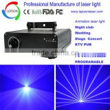 Single blue 300mW Animation text laser light