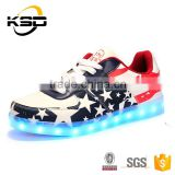 2016 Latest and sell hottest Autumn To Keep Warm Kids Shoes Girl shoes with led light Adult Shoes With Lights