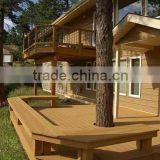 WPC outdoor decking for WPC house engineer project