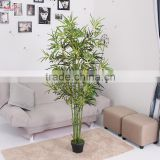 Cheap beautiful decorative plastic artificial tree bamboo leaves branches