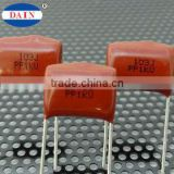 Made in Taiwan coated PPN Polypropylene 0.47uf 0.01uf film 474j capacitor