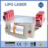 650nm low level laser therapy lipo laser cool beam laser machine for stretch mark removal