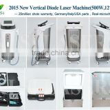 KLSI 808nm Diode laser machine Sino-DS8 with painless and fast for Permanent Hair removal