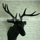 Furry Animal Taxidermy synthetic faux deer heads mounted