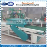 Auto twin circular blade edger wood machine made in Chinese Manufacture Shandong Shuanghuan