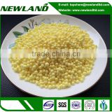 High purity granular N37 yellow sulfur coated urea