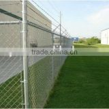 "Square Hole Shape chain link fence with 2"" Rhumbi, 12 gauge, covered with PVC, 8"" tall./ malla de alambre de diamante,valla"