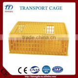 Brand new pallet stackable rigid rolling storage cage with high quality quail turnover cage