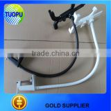 China laptop table clamp table desk clamp with hose,aluminum alloy desk clamp with hose