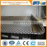 304/201 Stainless Steel Crimped Wire Mesh/ Galvanized Crimped Wire Mesh/ Square Hole crimped screen