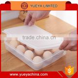 Egg Container Holder Box Refrigerator Storage Tray for 12 eggs