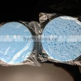 hot sale blue PVA facial cleaning sponge