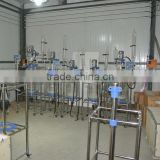 1L-100L lab S double-layer jacketed glass reactor
