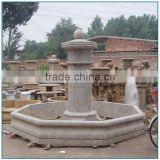 Garden Decorative Antique Stone Marble Water Fountain for Sale
