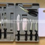 11pcs Professional Quality Butcher's Knife Set with Suitcase