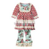 Fall/winter girls outfit Sue Lucky 2017 baby girls cotton clothing cotton lace design girls clothing wholesale