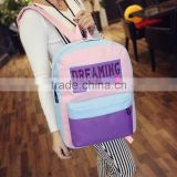 China supplier hot sale cheap school backpack bag wholesale college teenager student school bag