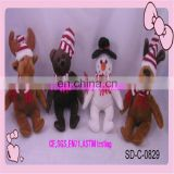 customize christmas gits plush toys