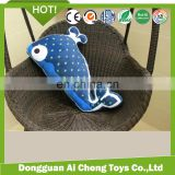High quality soft plush dophin pillow /cute dophin toys pillow