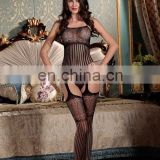 See-through charming lingerie body stocking