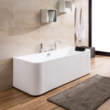 ​Rectangle bathroom indoor acrylic freestanding bathtub