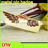 Custom Pilot Wing Metal Pin Badge ,Good Qulity Metal Pin Badge ,We Make Custom Your Own Design Metal Pin Badge