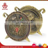 Custom Military Challenge Coin With National Flag