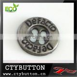 AS-003 custom printed sewing buttons